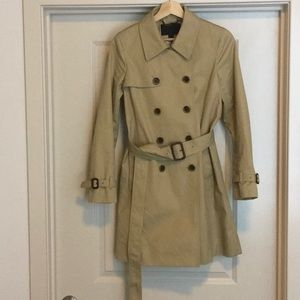 Jcrew collection trench coat